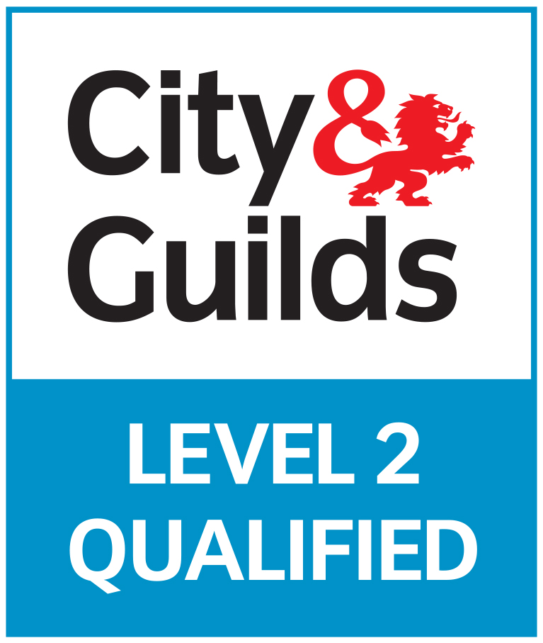City & Guilds Level 2 Qualified Logo
